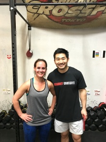Together with Coach Yasu