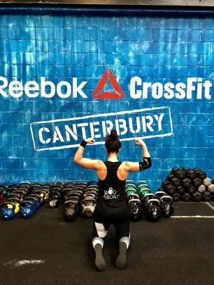 Wod abroad at Reebok Crossfit Canterbury