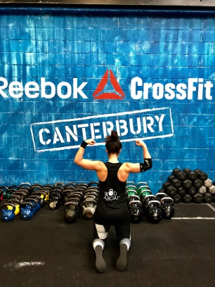 Wod abroad at Reebok Crossfit Canterbury